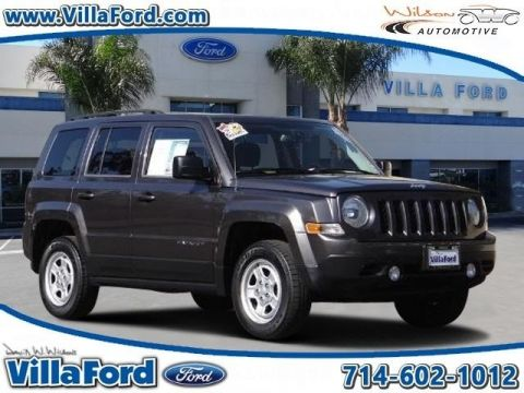 Pre-Owned 2015 Jeep Patriot Sport 4WD