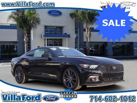 Certified Used Ford Mustang EcoBoost