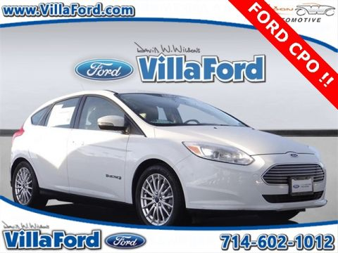 Certified Pre-Owned 2014 Ford Focus Electric Base