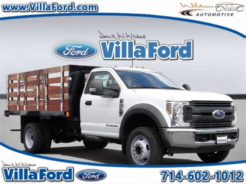 New 2018 Ford F-450SD XL