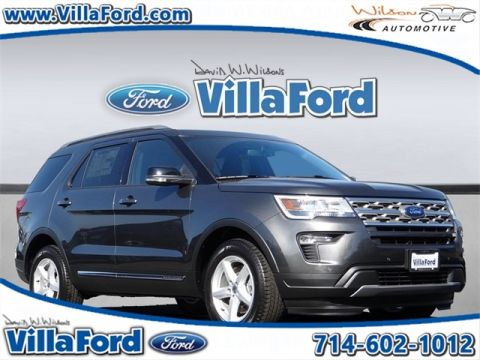 New 2018 Ford Explorer XLT