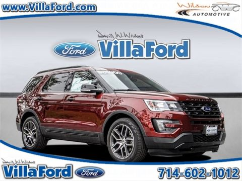 Certified Used Ford Explorer Sport