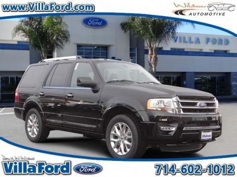 New 2017 Ford Expedition Limited 4WD