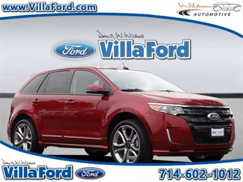 Certified Pre-Owned 2014 Ford Edge Sport