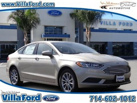 New Ford Fusion SE