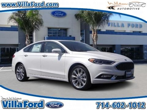 New Ford Fusion Platinum
