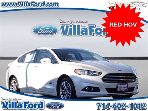 Certified Pre-Owned 2016 Ford Fusion Energi Titanium