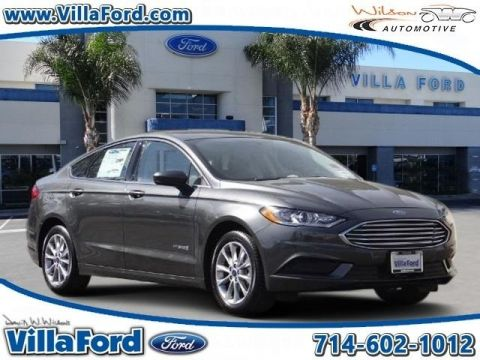 New 2017 Ford Fusion Hybrid S FWD 4D Sedan