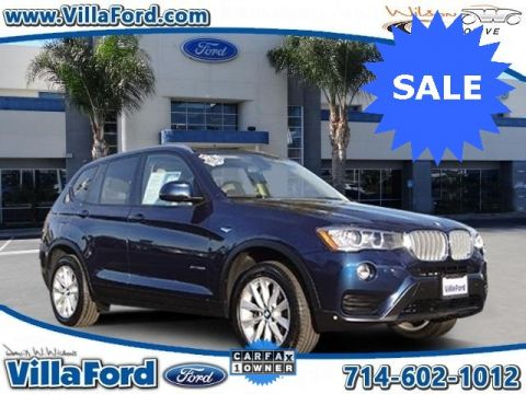 Pre-Owned 2016 BMW X3 xDrive28i AWD