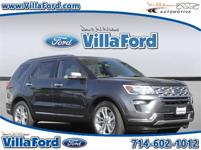 New 2018 Ford Explorer Limited