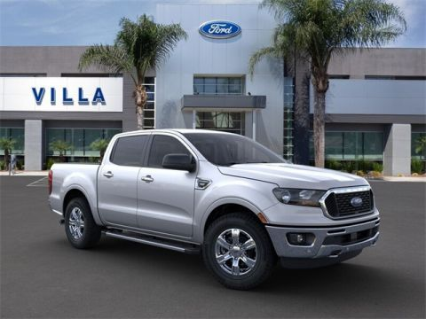 New 2019 Ford Ranger XLT 4WD 4D Crew Cab