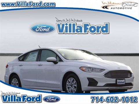 New 2019 Ford Fusion S