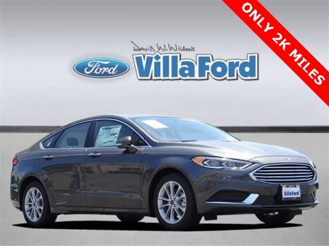Pre-Owned 2018 Ford Fusion SE FWD 4D Sedan