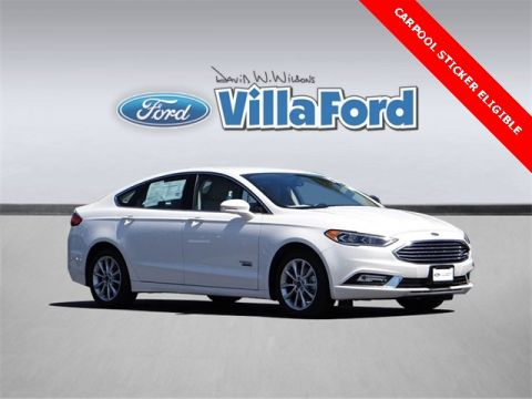 Certified Pre-Owned 2017 Ford Fusion Energi SE Luxury