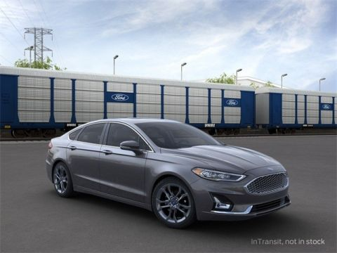 New 2020 Ford Fusion Hybrid Titanium FWD 4D Sedan